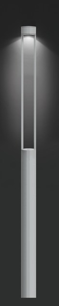 Aluminium garden lamp post MOK F.8088 by Francesconi & C.