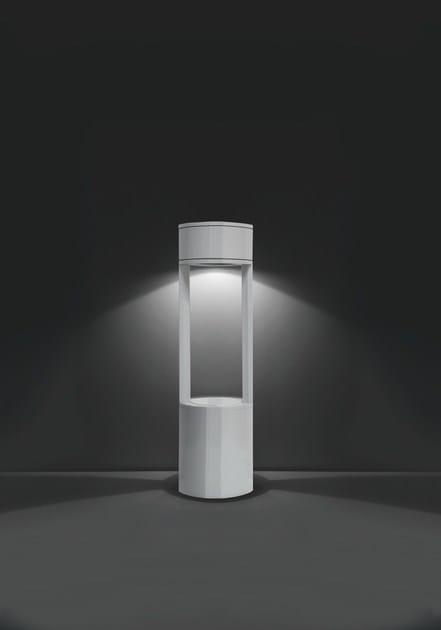 Aluminium bollard light MOK F.8090 by Francesconi & C.