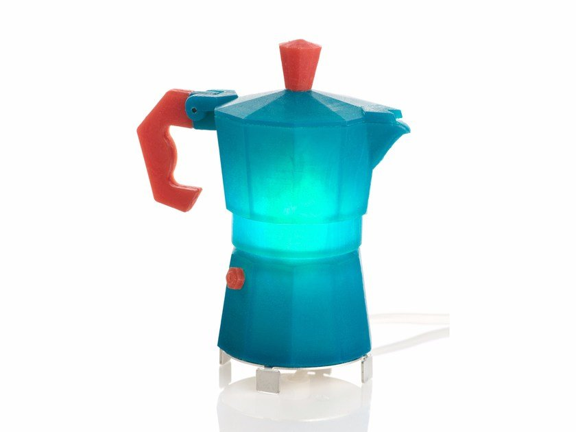LED handmade silicone table lamp MOKA by Berry-7