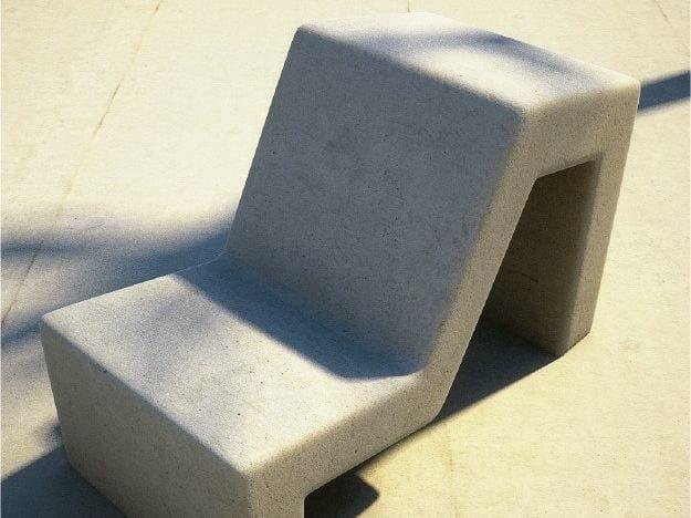 Seduta da esterni in calcestruzzo MOLD | Seduta da esterni by SIT
