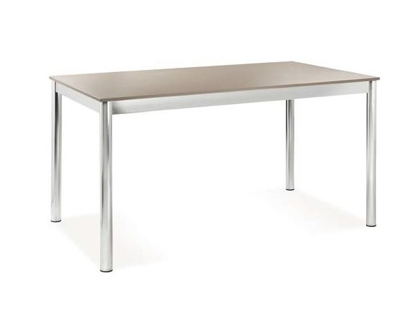 Extending rectangular laminate table MOMA by CREO Kitchens
