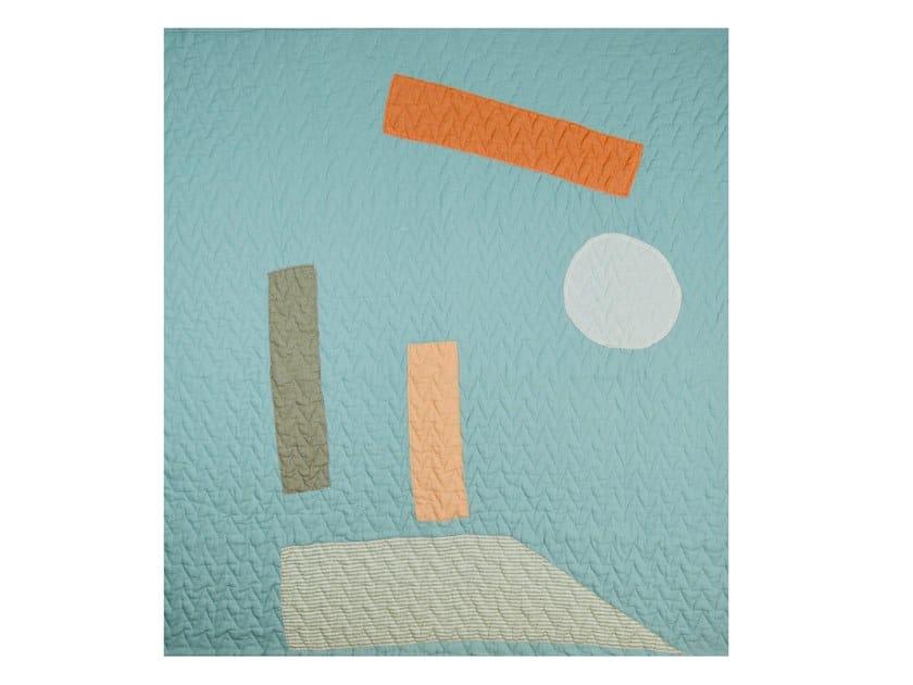 Linen quilt MON AMI | Quilt by KHEM Studios