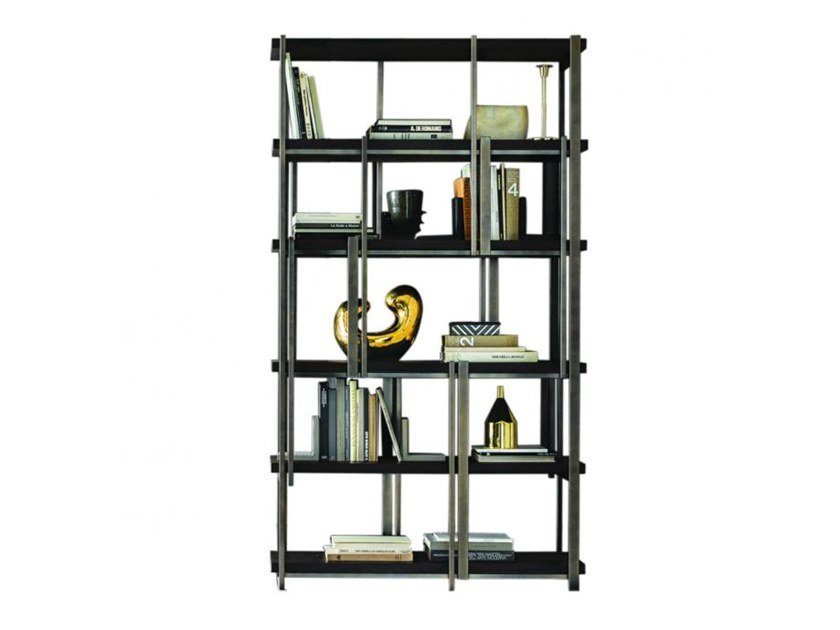 Open bookcase MONDRIAN | Bookcase by Casamilano