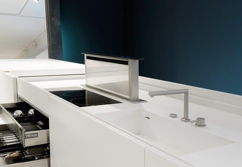 MONDRIAN | Kitchen with island By TM Italia Cucine design Roberto ...