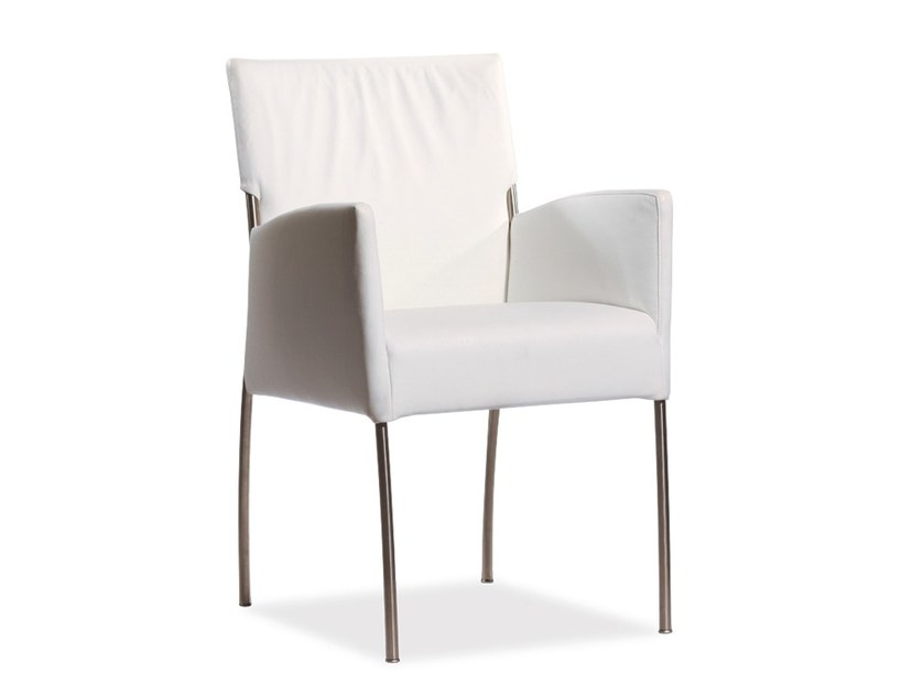 Upholstered chair with armrests MONET | Chair with armrests by Joli