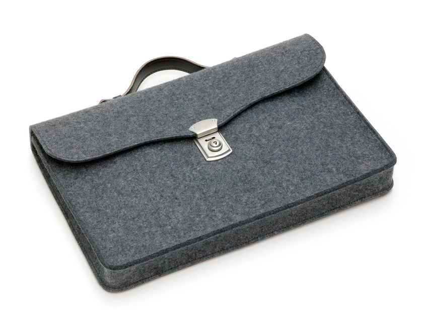 Felt bag MONEYPENNY by HEY-SIGN