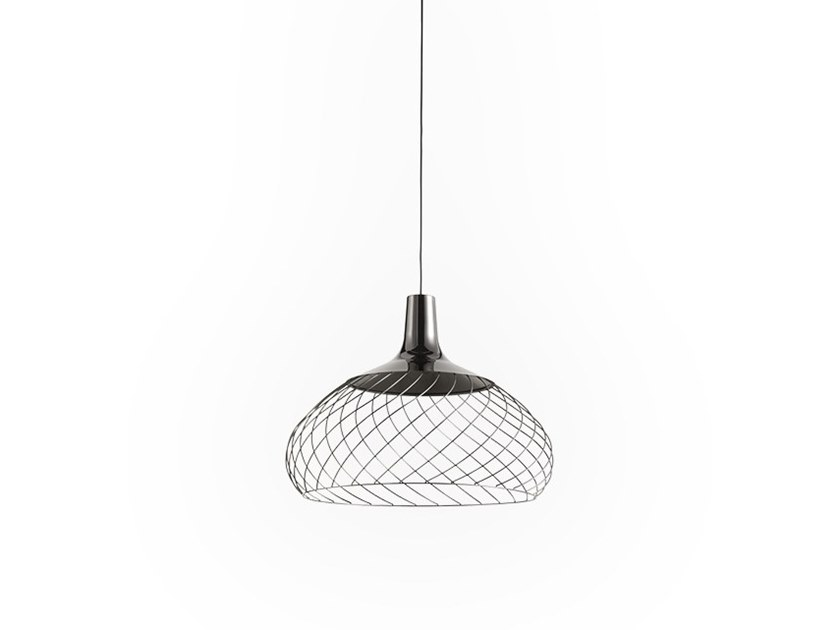 LED iron pendant lamp MONGOLFIER_P3 by Linea Light Group