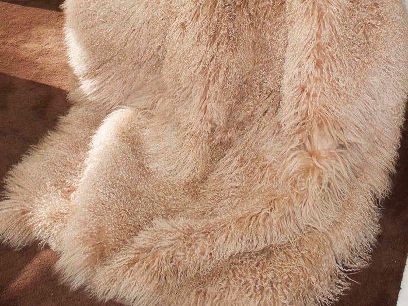 Plaid in pelle di capra mongolica MONGOLIA by Miyabi casa
