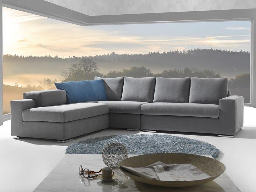 Corner fabric sofa MONICA | Corner sofa by Flexstyle