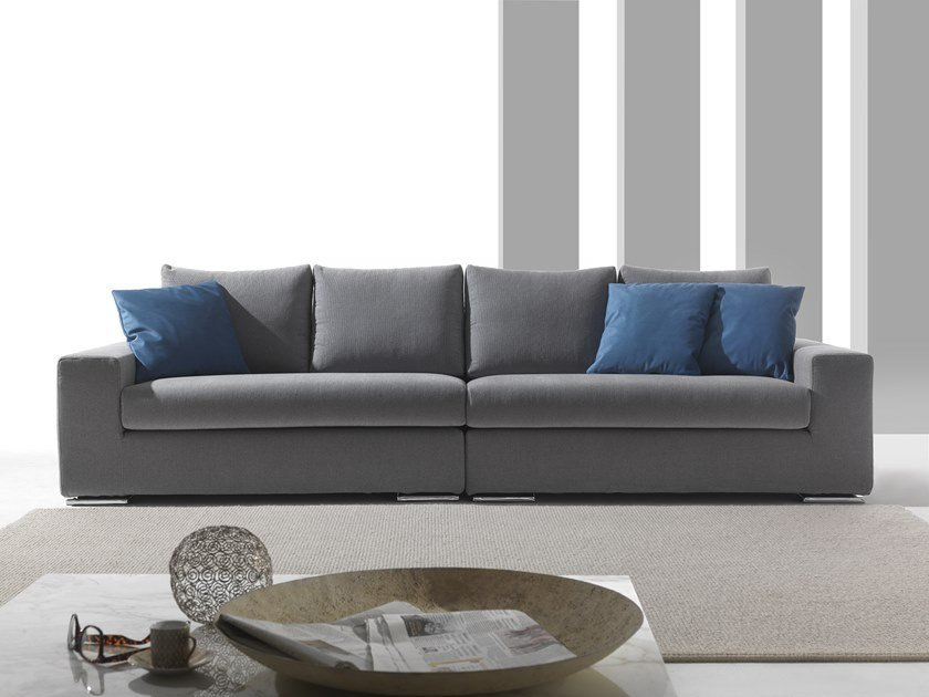 5 seater sectional fabric sofa MONICA | Fabric sofa by Flexstyle