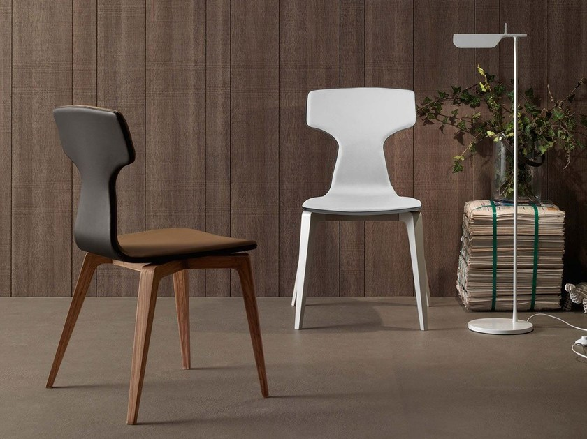 Imitation leather chair MONICA | Chair by Italy Dream Design