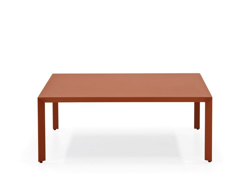 Painted metal coffee table MONO   Coffee table by PIANCA