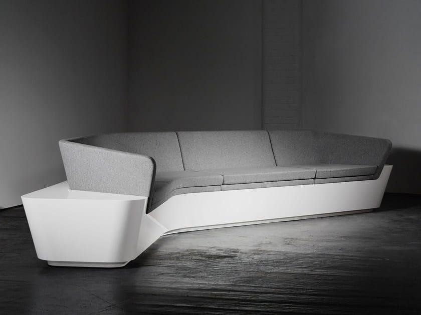 Divano modulare in Solid Surface MONO | Divano by Isomi