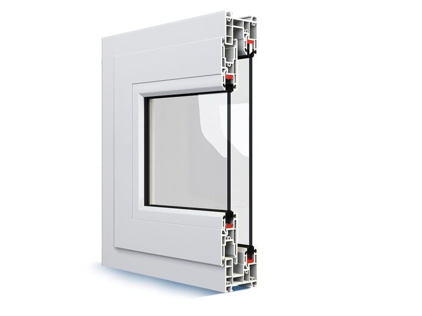 Double glazed window MONO SLIDE by EKO-OKNA