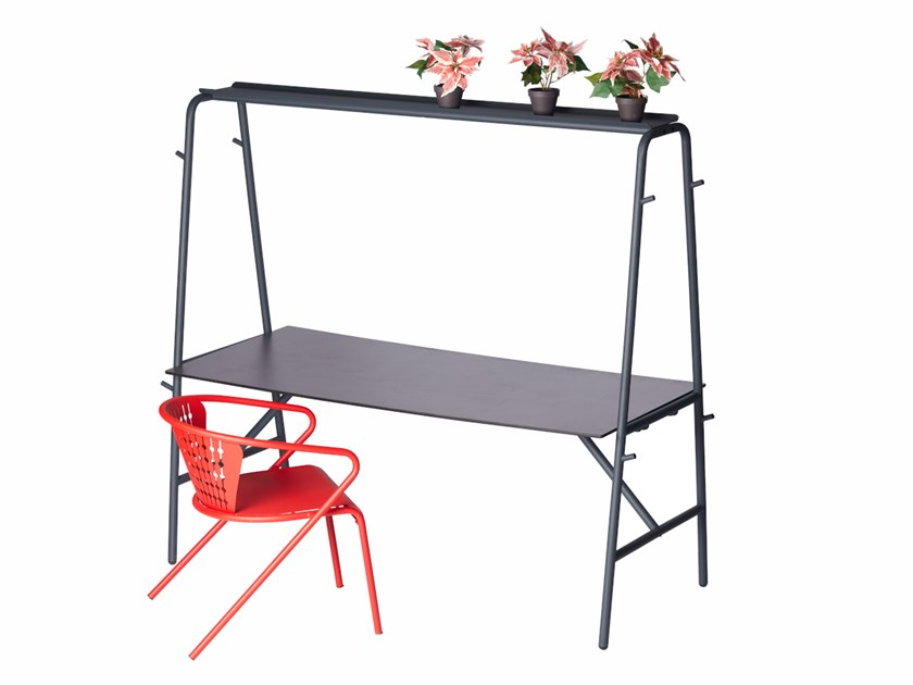Steel high table MONOBAR | High table by Punto Design