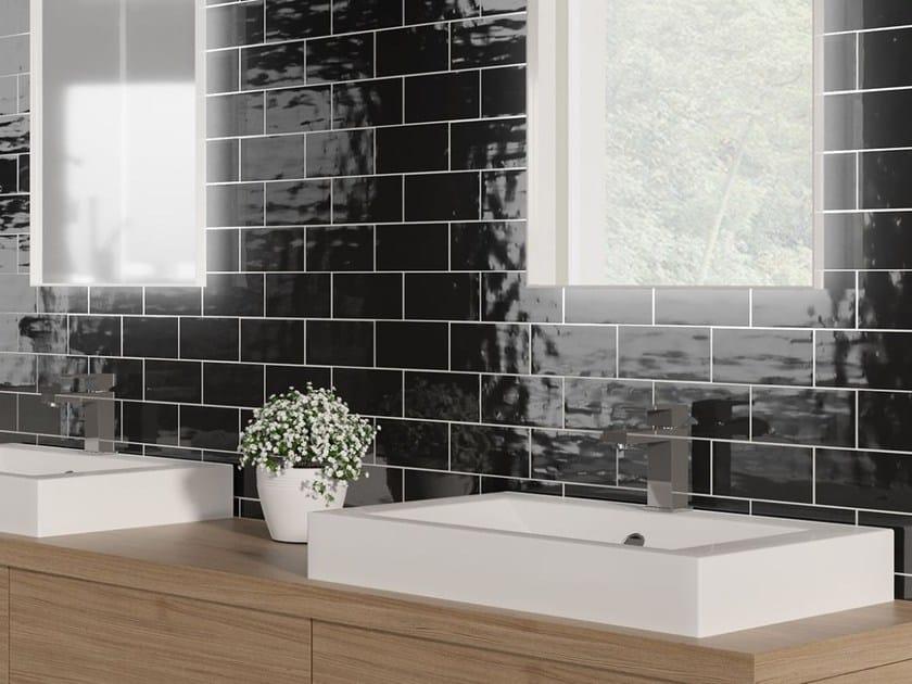Ceramic wall tiles MONOCOLOR MILANO 7.5x15 by Absolut Keramika