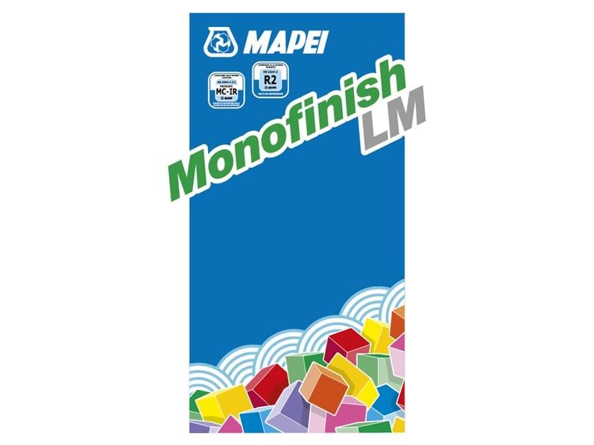 Thixotropic mortar MONOFINISH LM by MAPEI