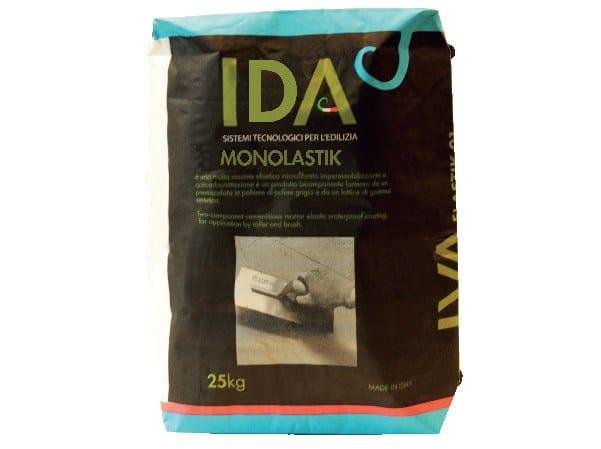 Cement-based waterproofing coating MONOLASTIK by IDA