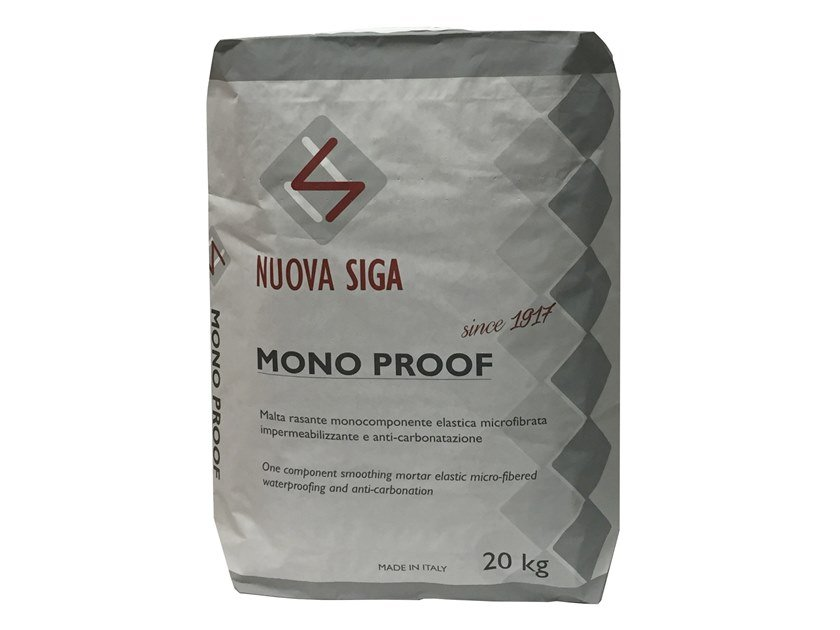 Cement-based waterproofing product MONOPROOF by NUOVA SIGA