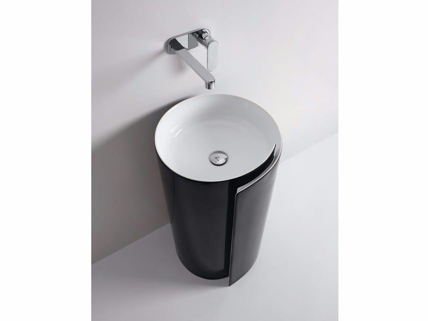 Ceramic washbasin MONOROLL | Washbasin by CERAMICA FLAMINIA