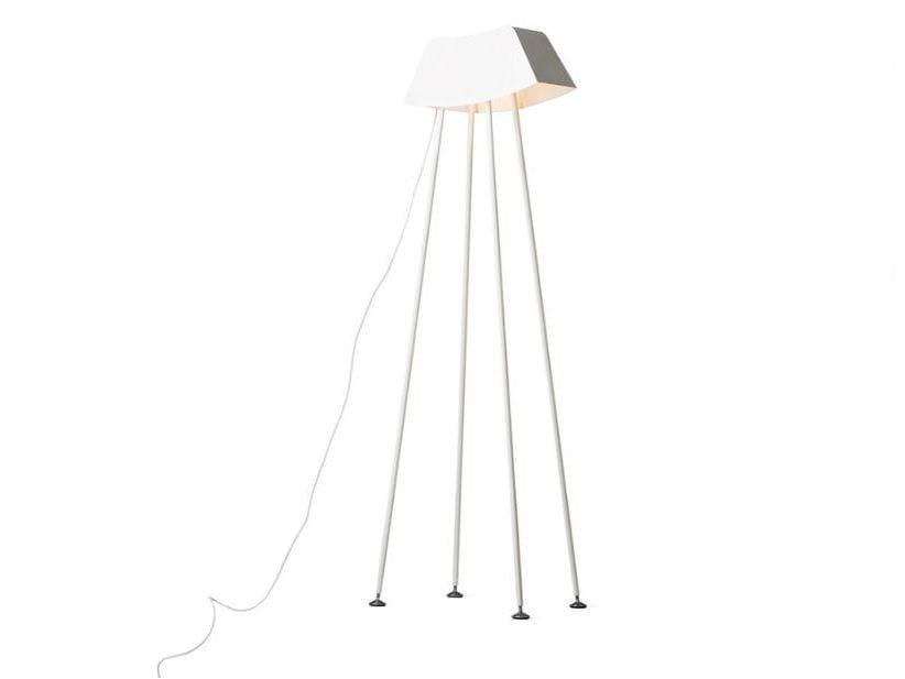 Plate floor lamp MONSIEUR by Officine Tamborrino