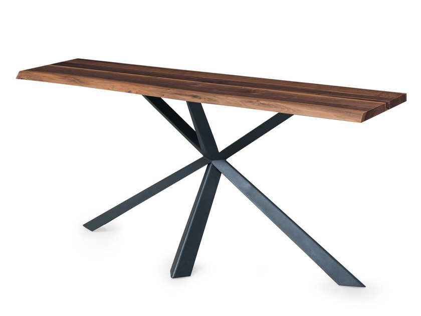 wooden console table. Rectangular Wooden Console Table MONTANA | By Oliver B. N