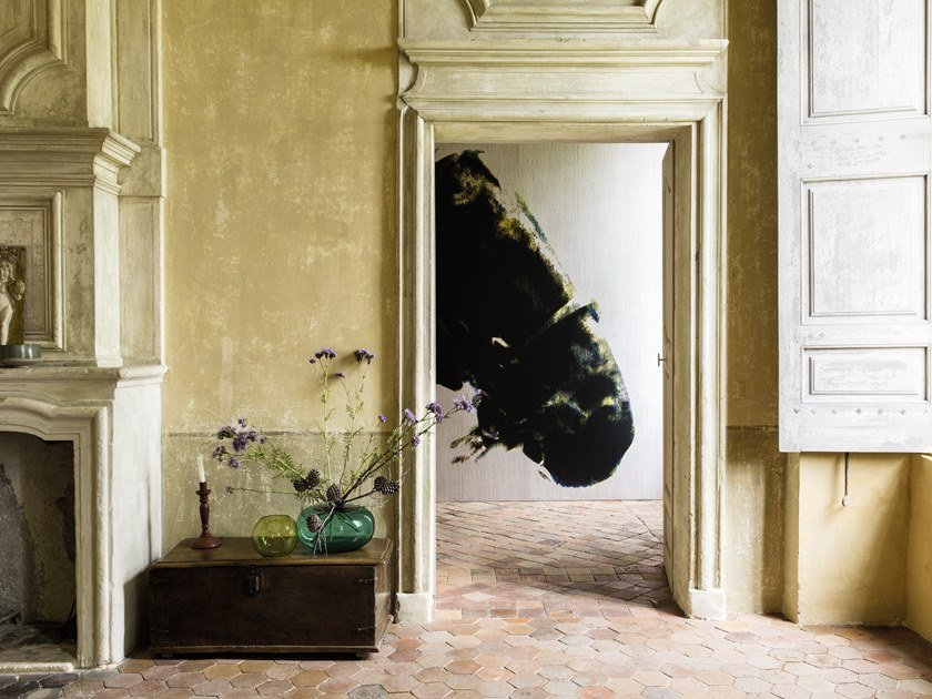 Carta da parati lavabile panoramica in vinile MONTAUK by Élitis