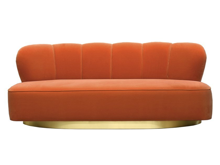 2 seater velvet sofa MONTI by Moanne