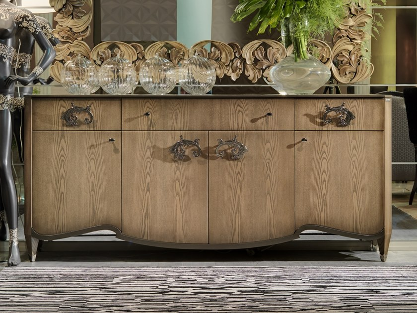 Wooden sideboard MONTMARTRE | Sideboard by Bizzotto