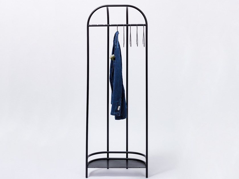 Metal coat stand MONTPARNASSE by Manganèse Éditions