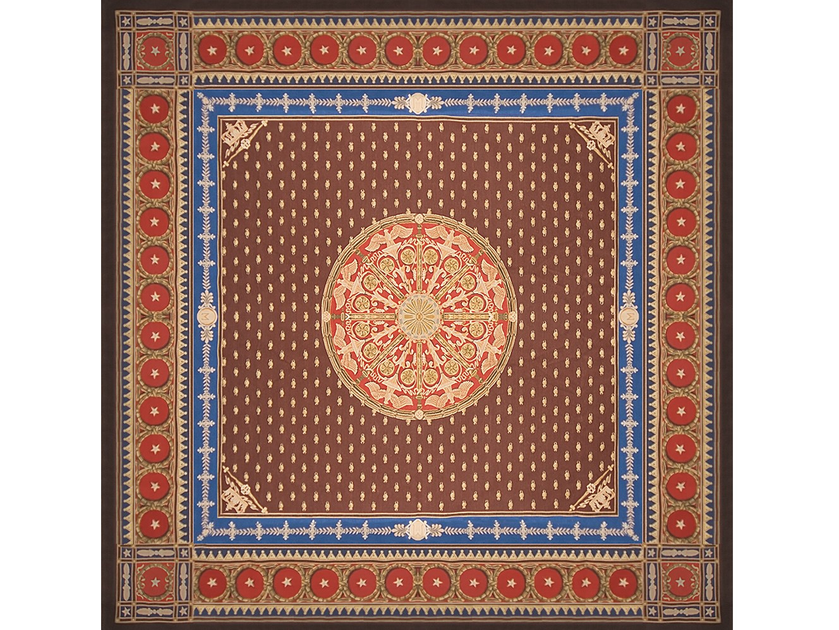 Rectangular wool rug MONTRESOR by EDITION BOUGAINVILLE