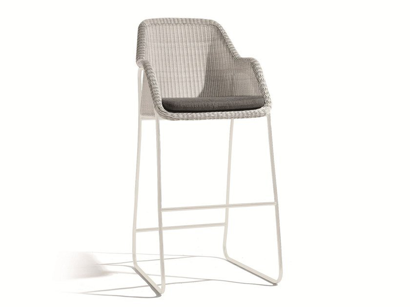 Synthetic material barstool MOOD | Stool by MANUTTI