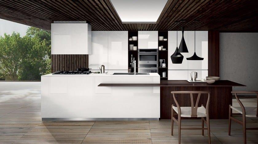 Cucina componibile in laminato MOOD | Cucina - Composit