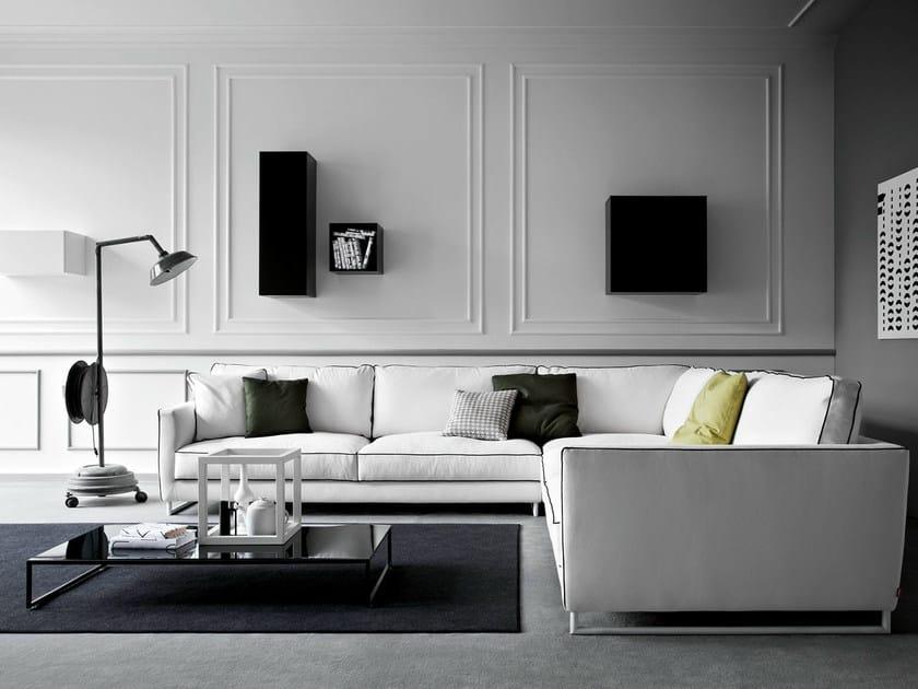 Corner fabric sofa MOOD | Corner sofa by PIANCA