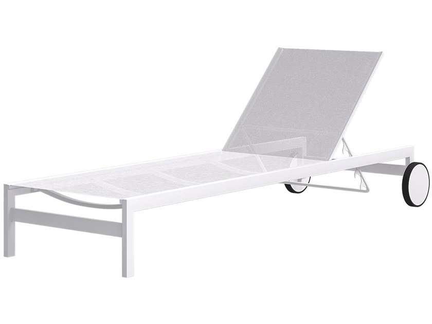 Recliner garden daybed with Casters MOOD   Garden daybed by Atmosphera