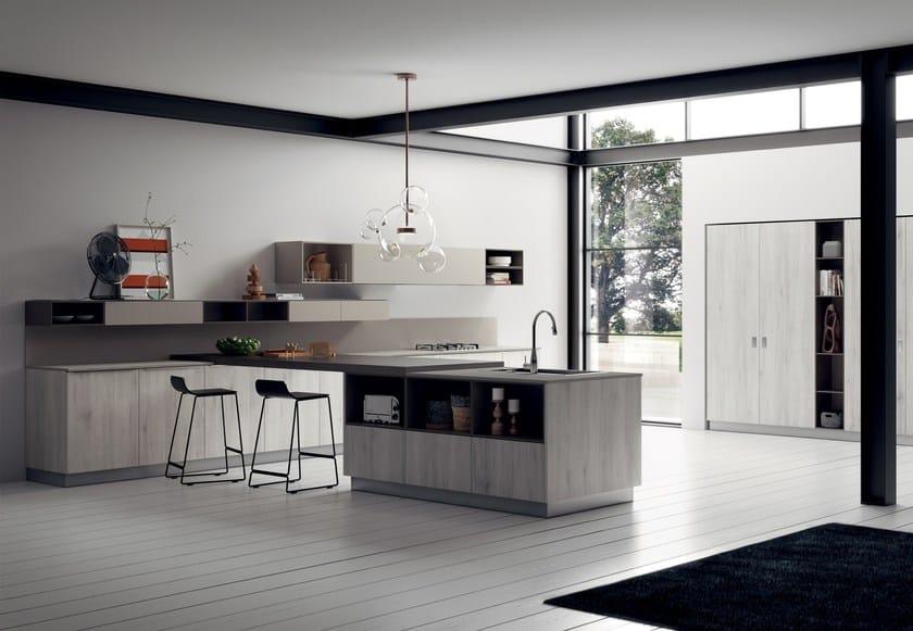 Cucina componibile MOOD Linea Scavolini By Scavolini design Silvano ...