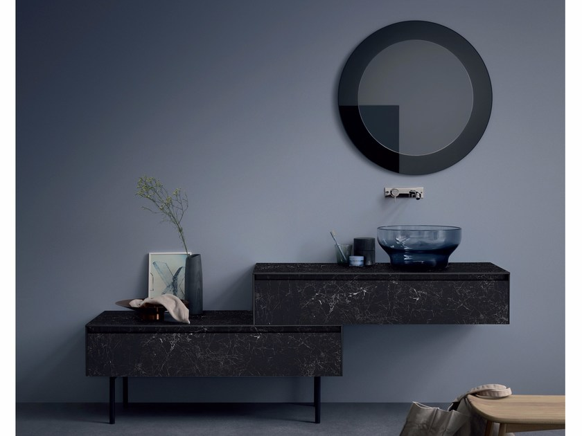 Vanity unit with drawers MOODE | Vanity unit by Rexa Design