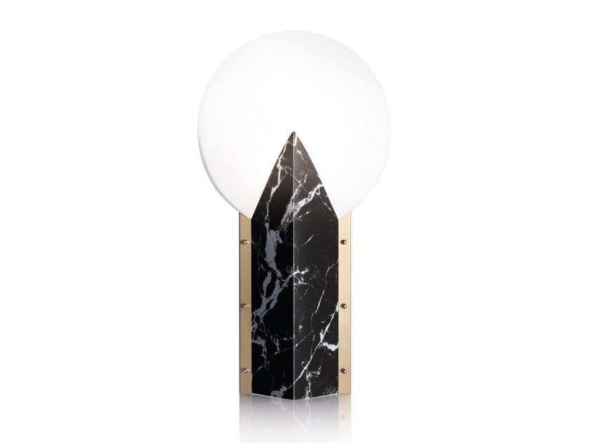 Lampada da tavolo in Opalflex® MOON 25ᵗʰ ANNIVERSARY by Slamp