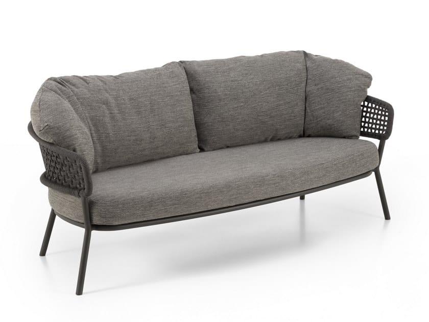 2 seater garden sofa MOON ALU | Garden sofa by Talenti
