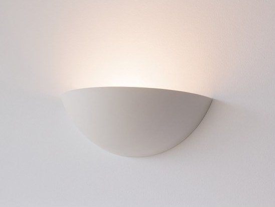 Plaster wall light MOON by GESSO
