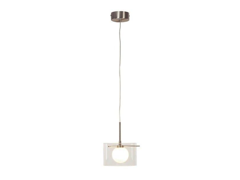 Glass pendant lamp MOON L by Aromas del Campo
