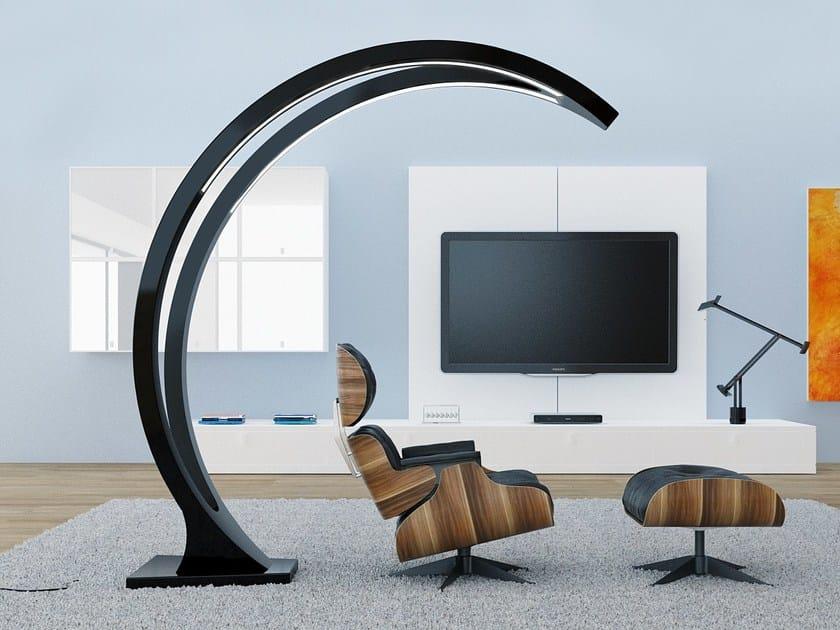 Direct light Adamantx® arc lamp MOON LAMP by ZAD ITALY