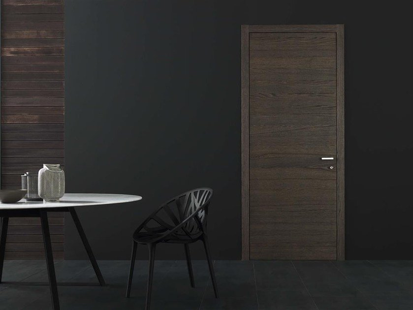 Hinged MDF door MOON OAK VENEERED by Door 2000