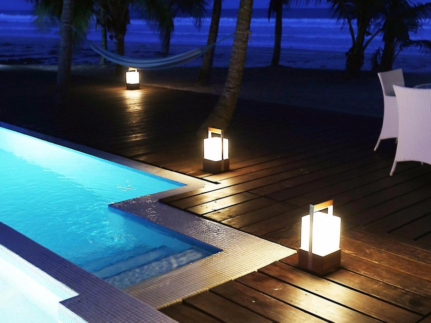 Outdoor lamp with rechargeable battery MOON SOON by TRADEWINDS