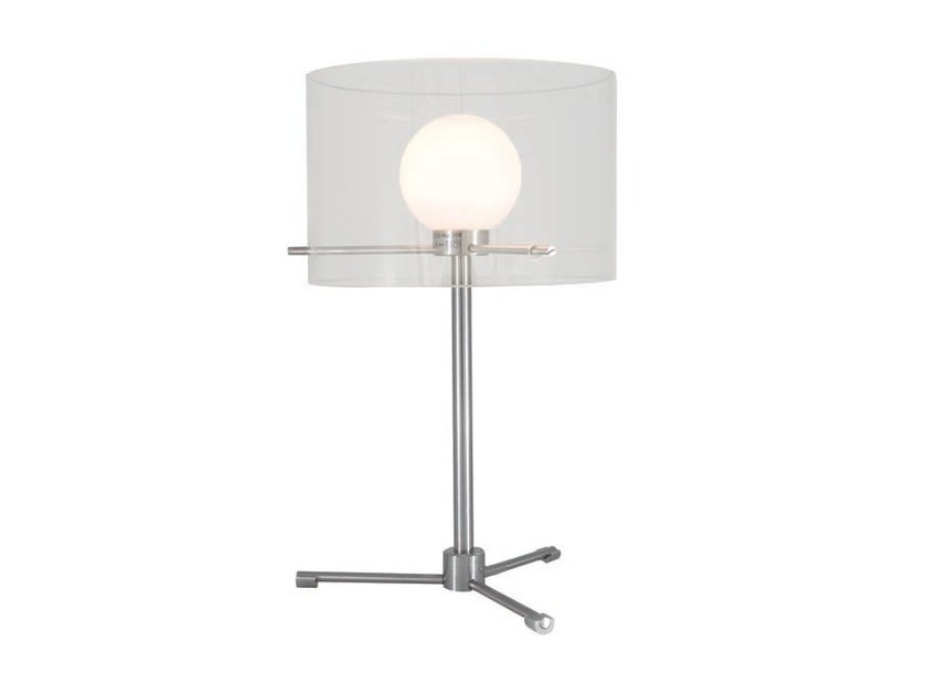 LED direct light table lamp with fixed arm MOON | Table lamp by Aromas del Campo
