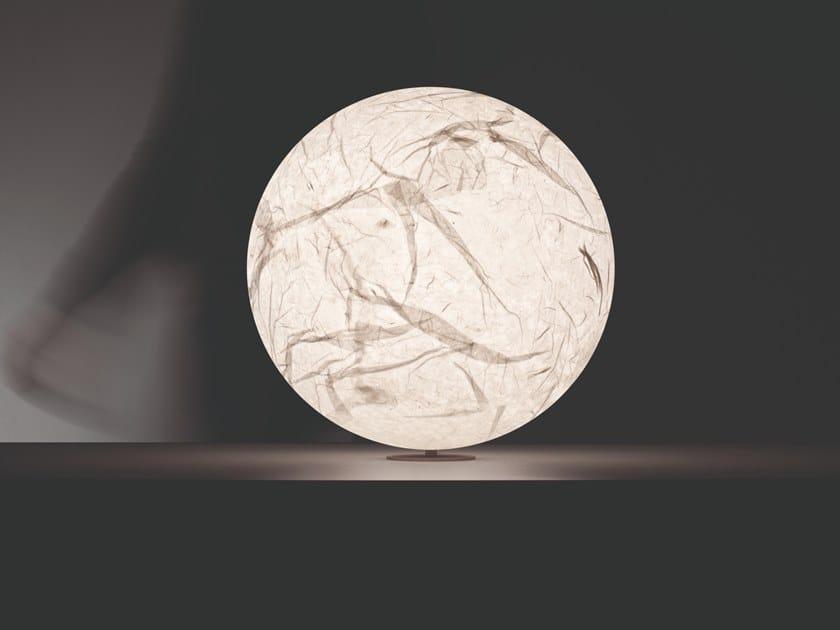 LED japanese paper table lamp MOON | Table lamp by DAVIDE GROPPI