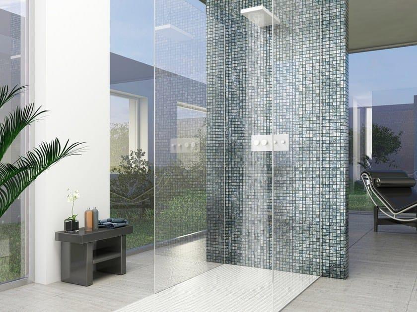 Glass Pool liner / mosaic MOON by VIDREPUR