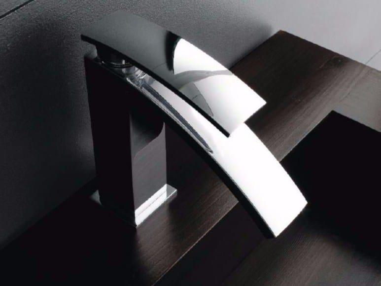 Single handle 1 hole washbasin mixer MOON | Washbasin mixer by ZAZZERI