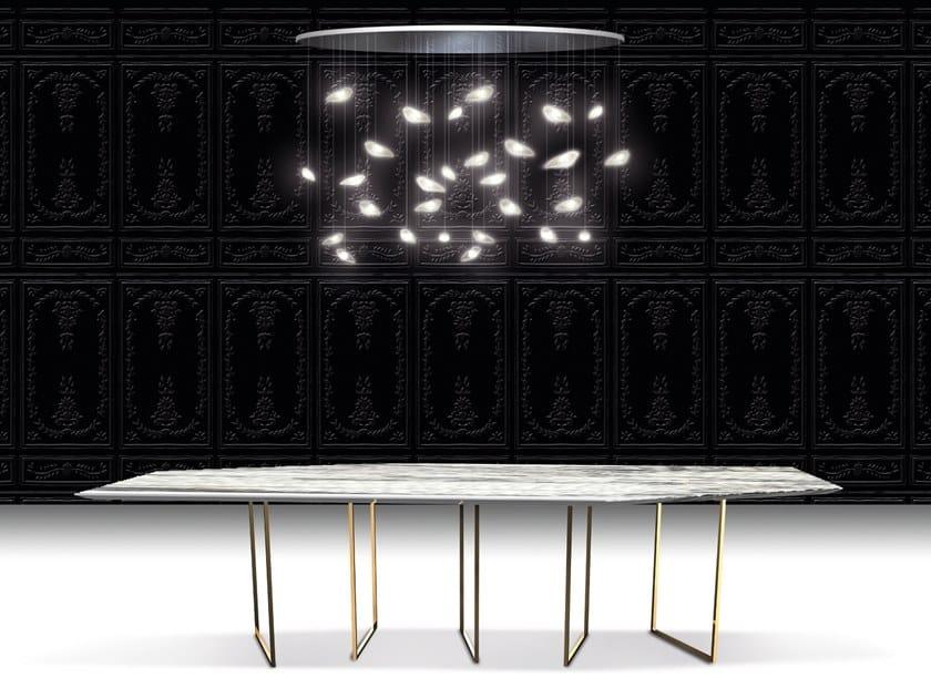 Design steel dining table MOOV' by Beau & Bien