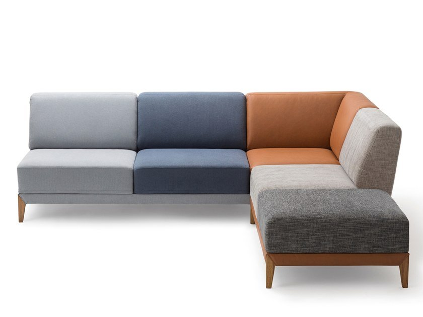 Corner sectional convertible sofa